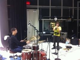 B. Sanz & A. Avice  - WNUR Studios, Nov. 4, 2013