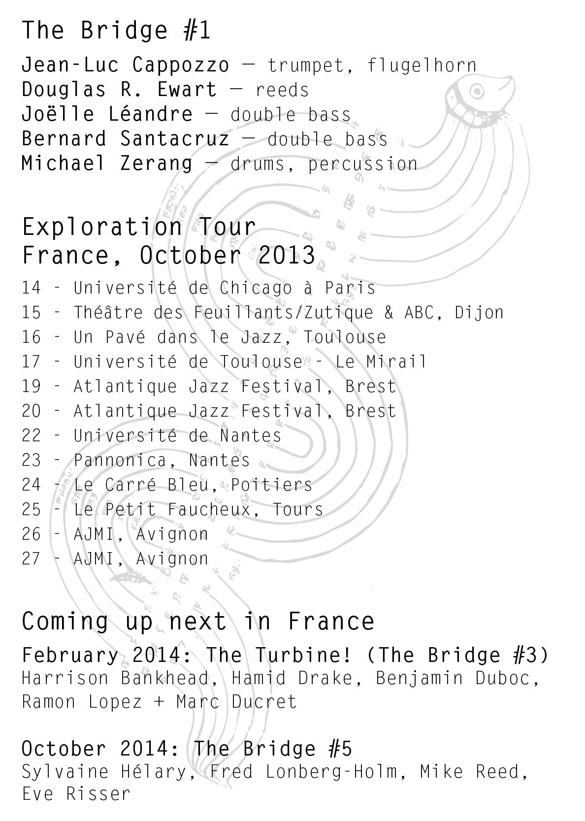 [TB#1] Exploration Travel flyer