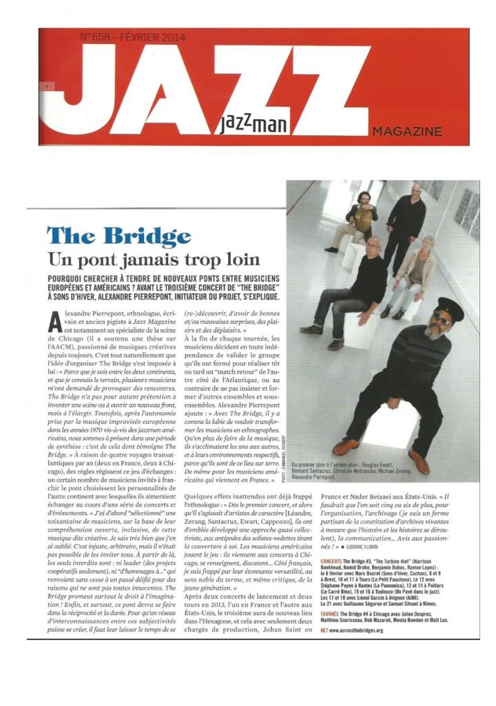 Article Jazz Magazine